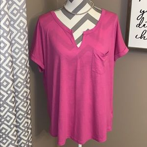Women's pink Top size XL